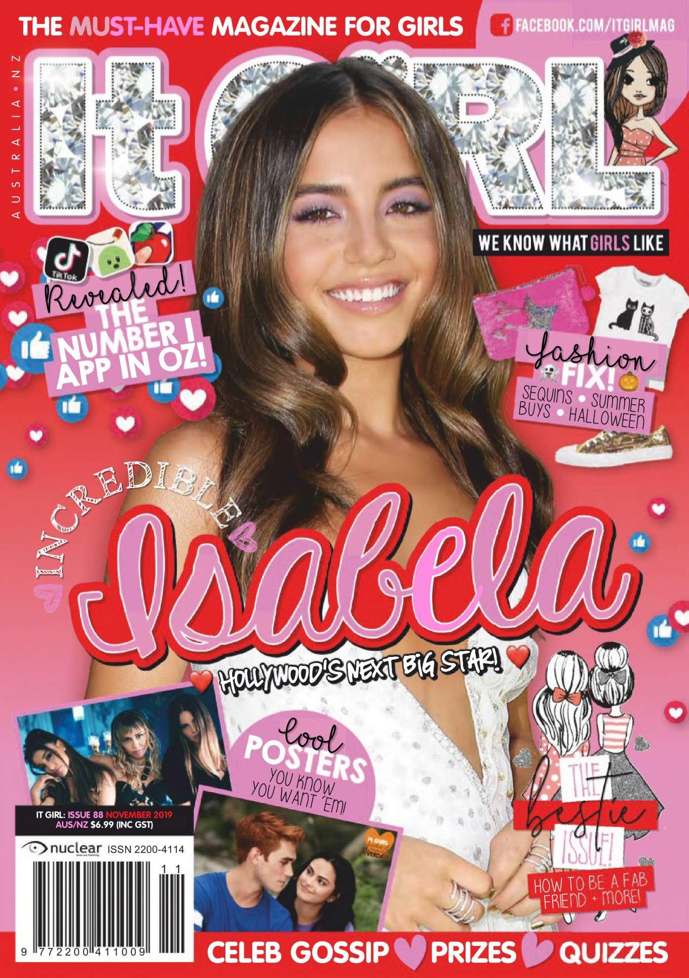 Isabela Moner 2019 : Isabela Moner – It GiRL Magazine 2019-02