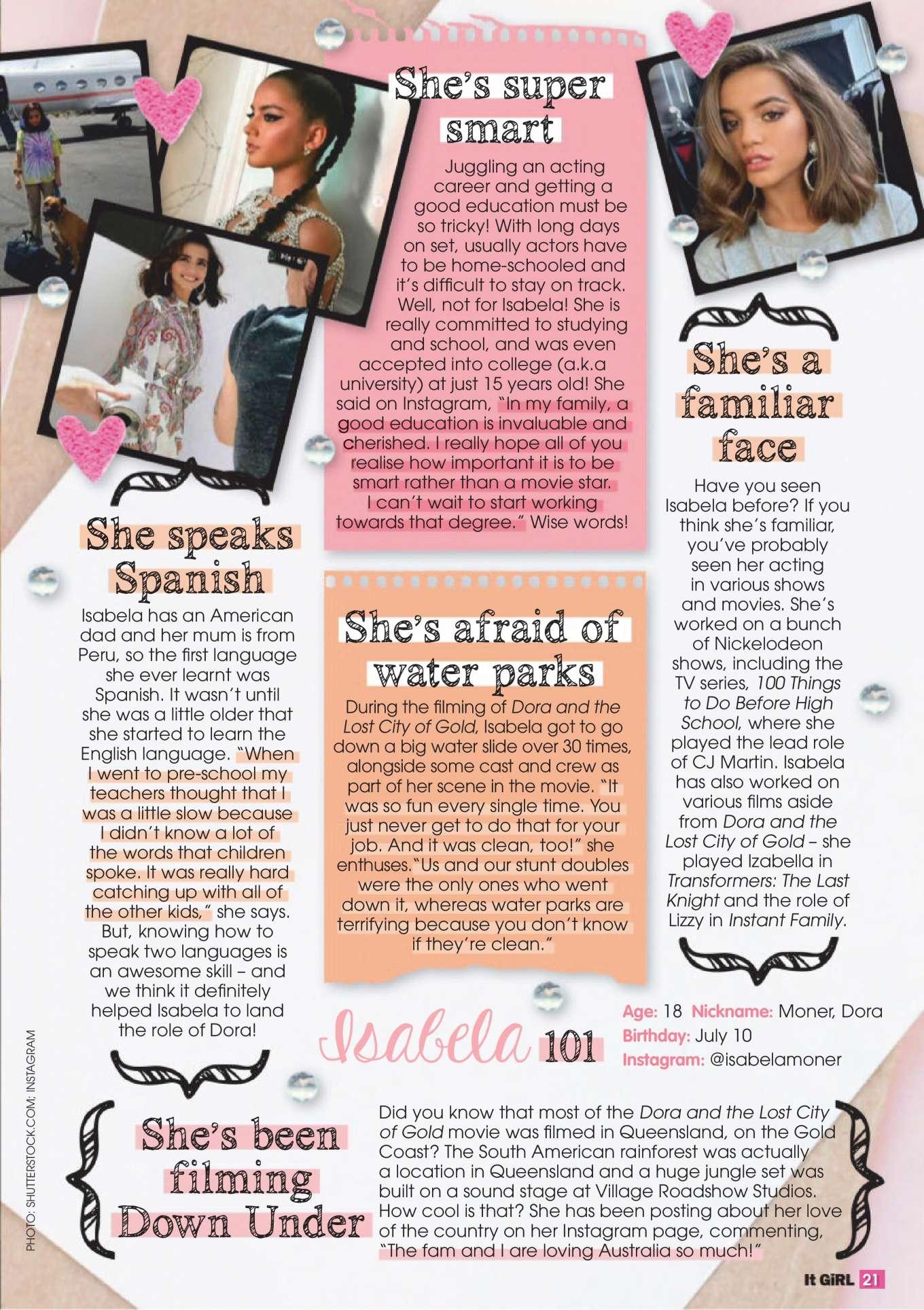Isabela Moner 2019 : Isabela Moner – It GiRL Magazine 2019-03