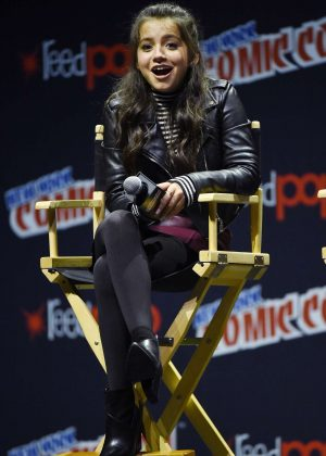 Isabela Moner - 'Legends of The Hidden Temple' Panel at 2016 New York Comic Con