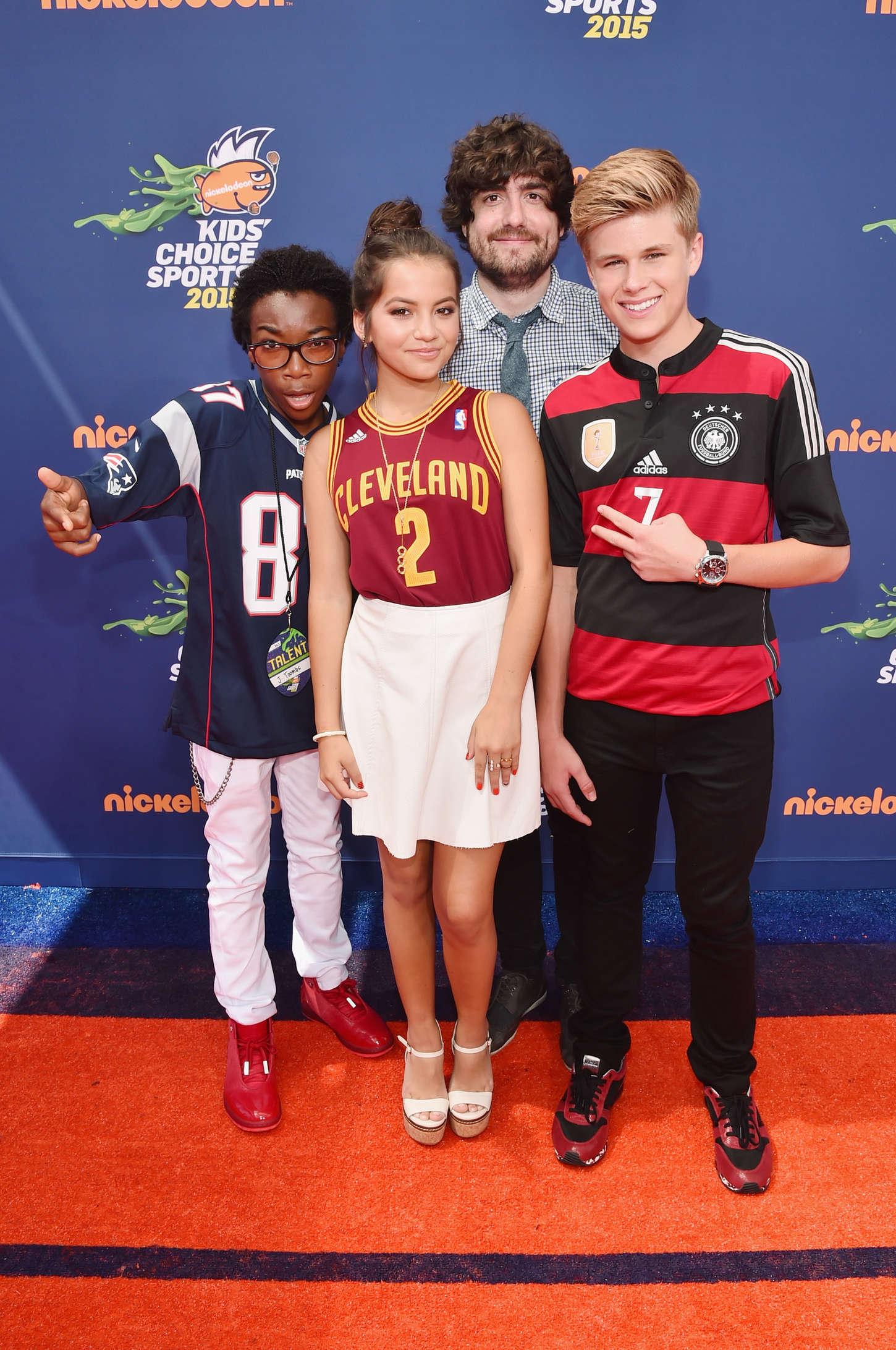Isabela Moner 2015 : Isabela Moner: 2015 Nickelodeons Kids Choice Sports Awards -06