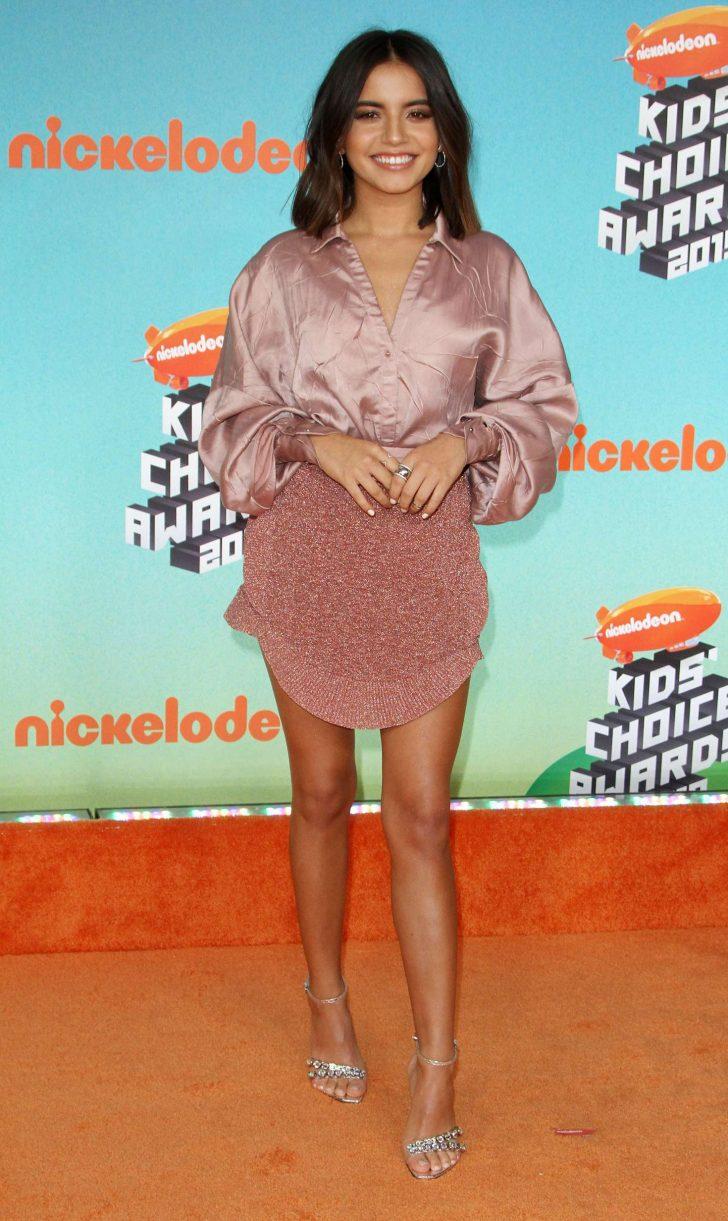 Isabela Moner 2019 : Isabela Moner: Nickelodeon's Kids' Choice Awards 2019 -09