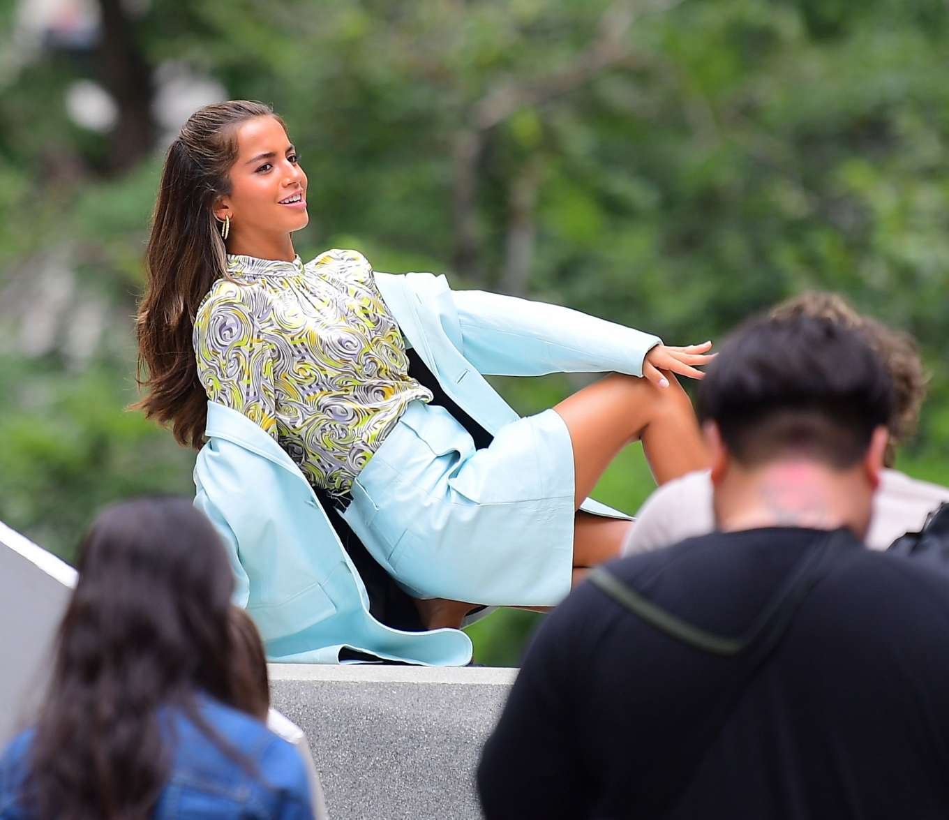 Isabela Moner 2019 : Isabela Moner – Poses for Stylish Photoshoot on the Steps of City Hall-19