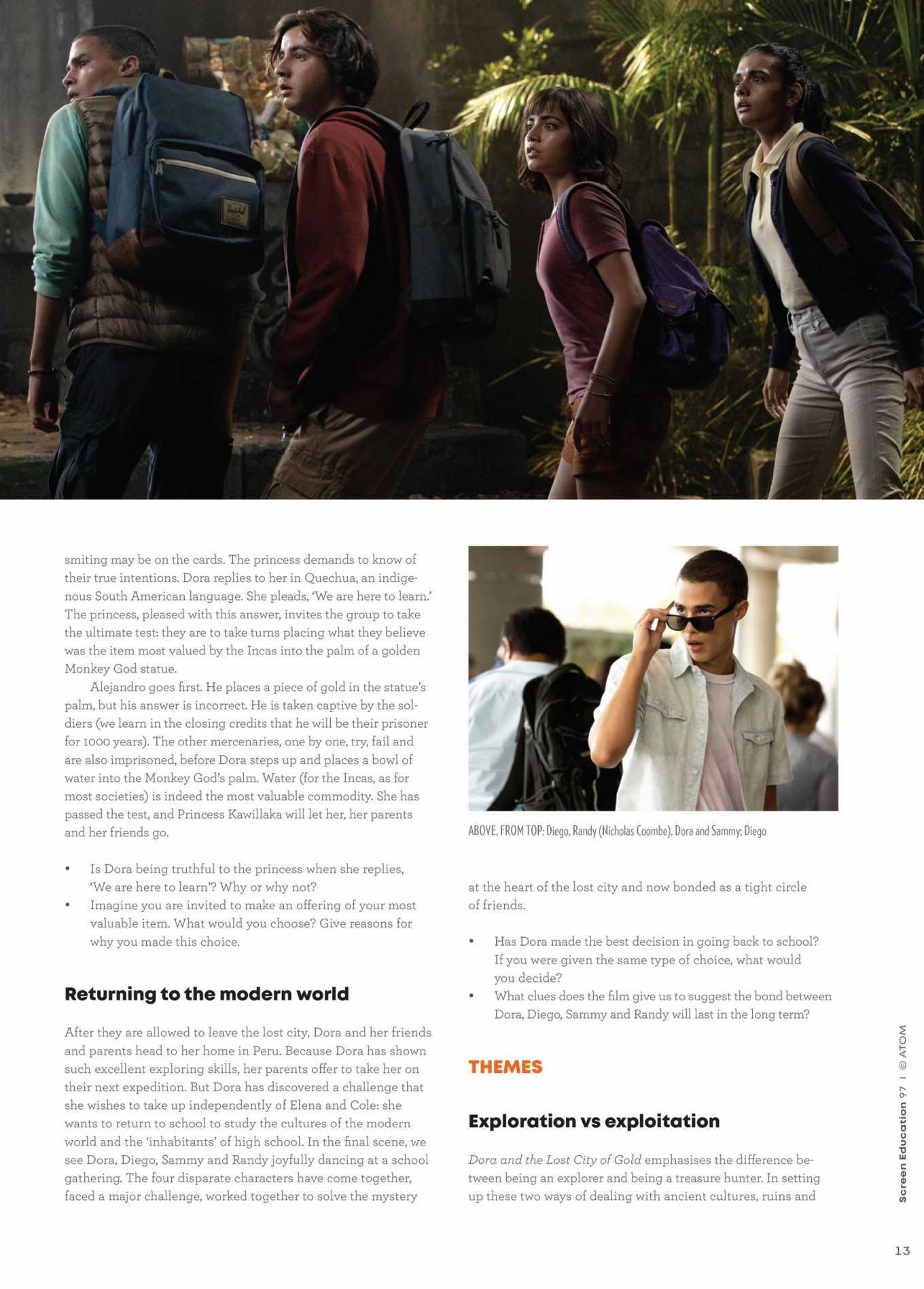 Isabela Moner 2020 : Isabela Moner – Screen Education 2020-01