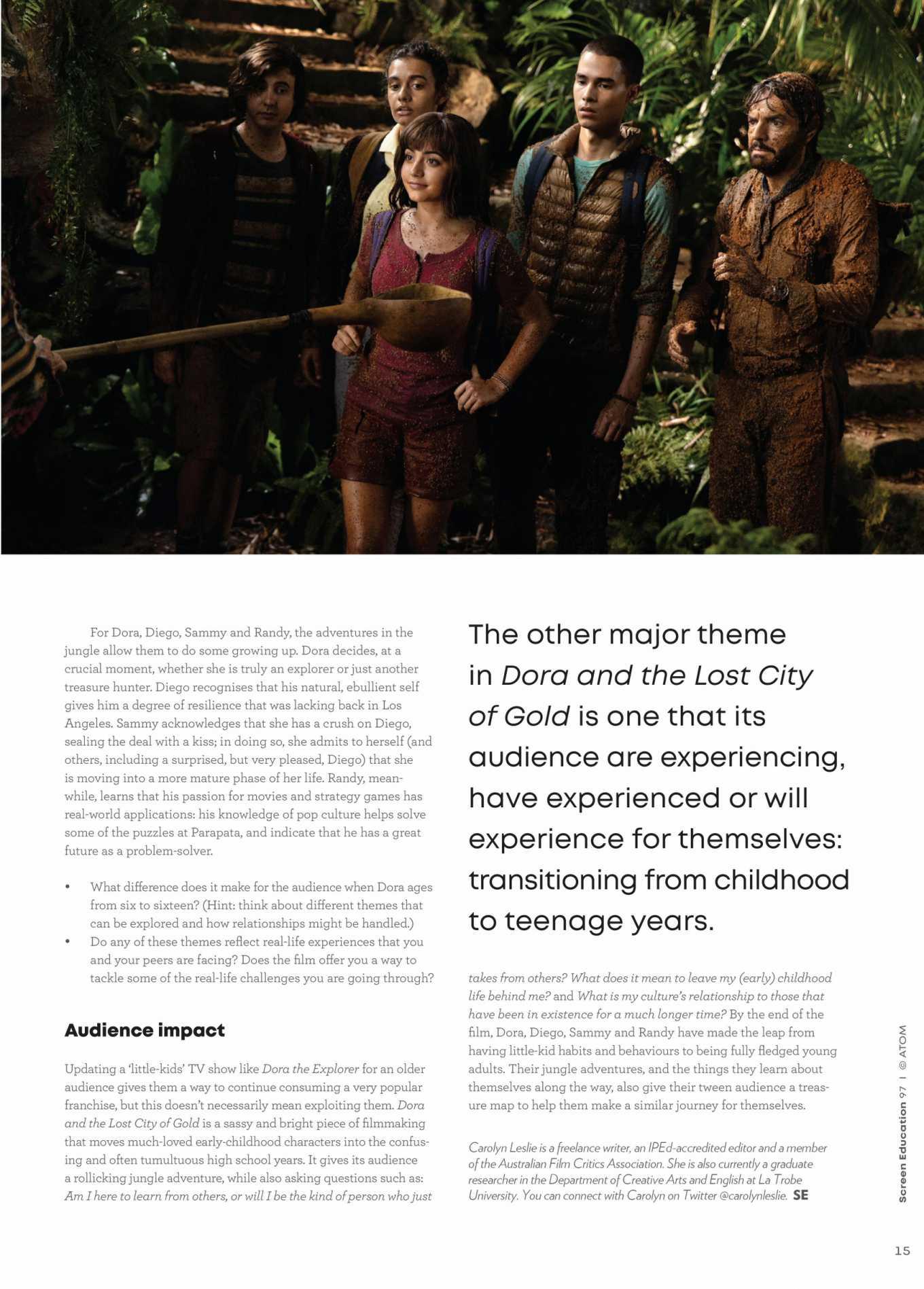 Isabela Moner 2020 : Isabela Moner – Screen Education 2020-04
