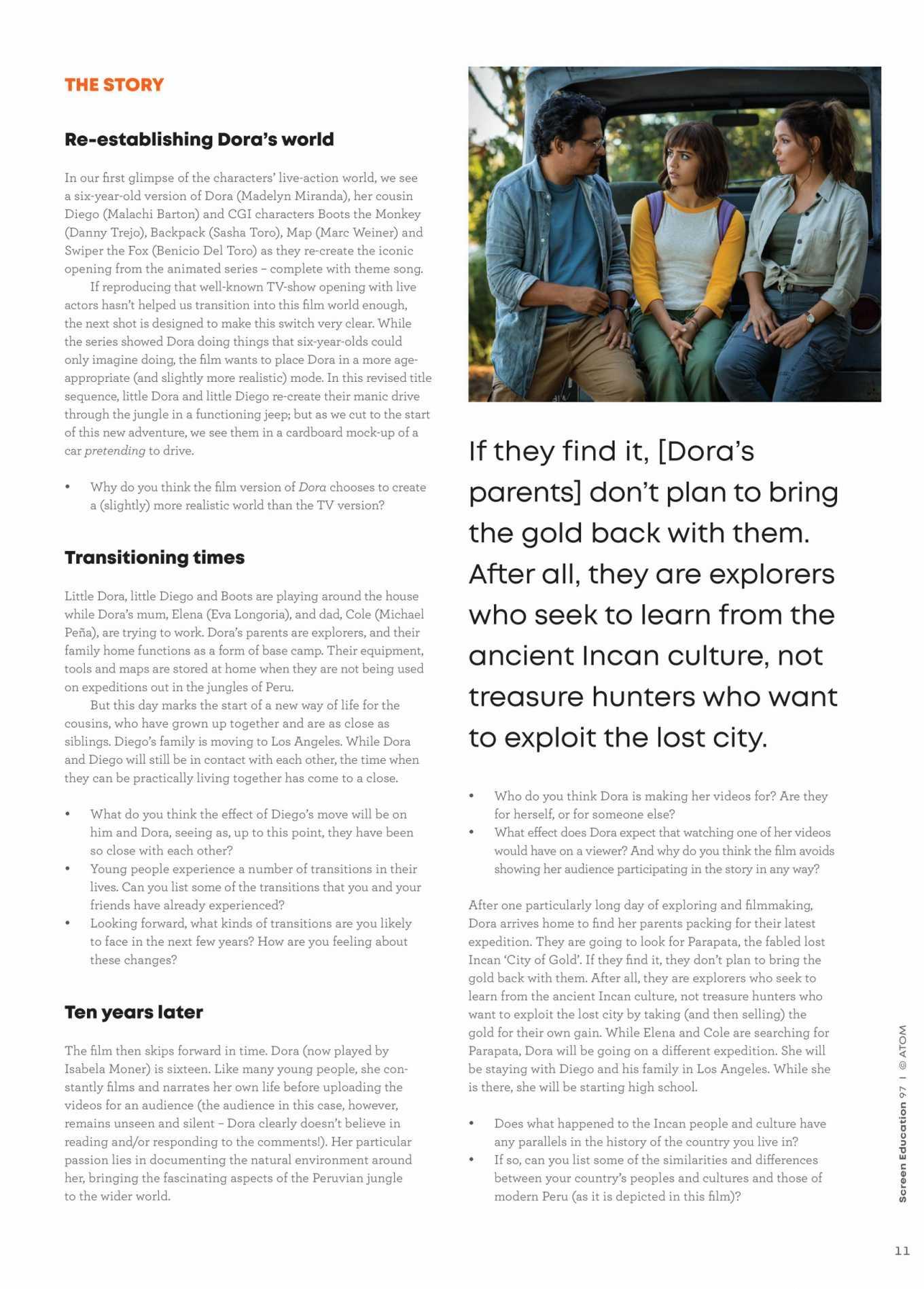 Isabela Moner 2020 : Isabela Moner – Screen Education 2020-08