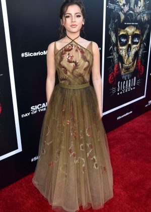 Isabela Moner - 'Sicario: Day of the Soldado' Premiere in Los Angeles