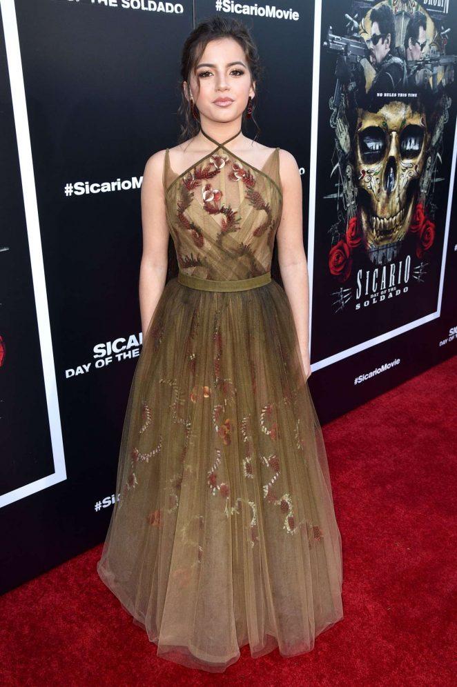 Isabela Moner – 'Sicario: Day of the Soldado' Premiere in Los Angeles