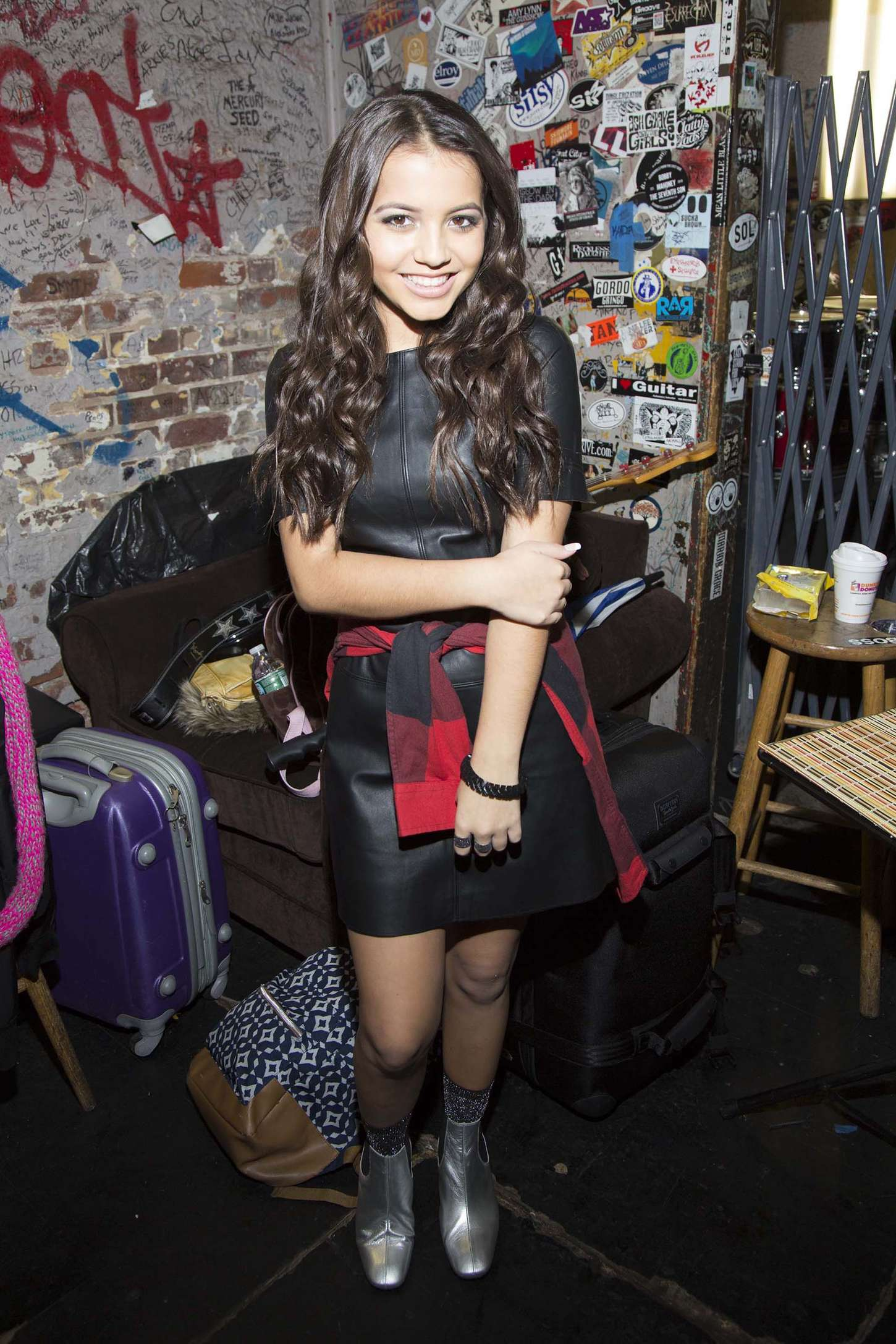 Isabela Moner 2015 : Isabela Moner: Stopping Time Album Launch Party -01