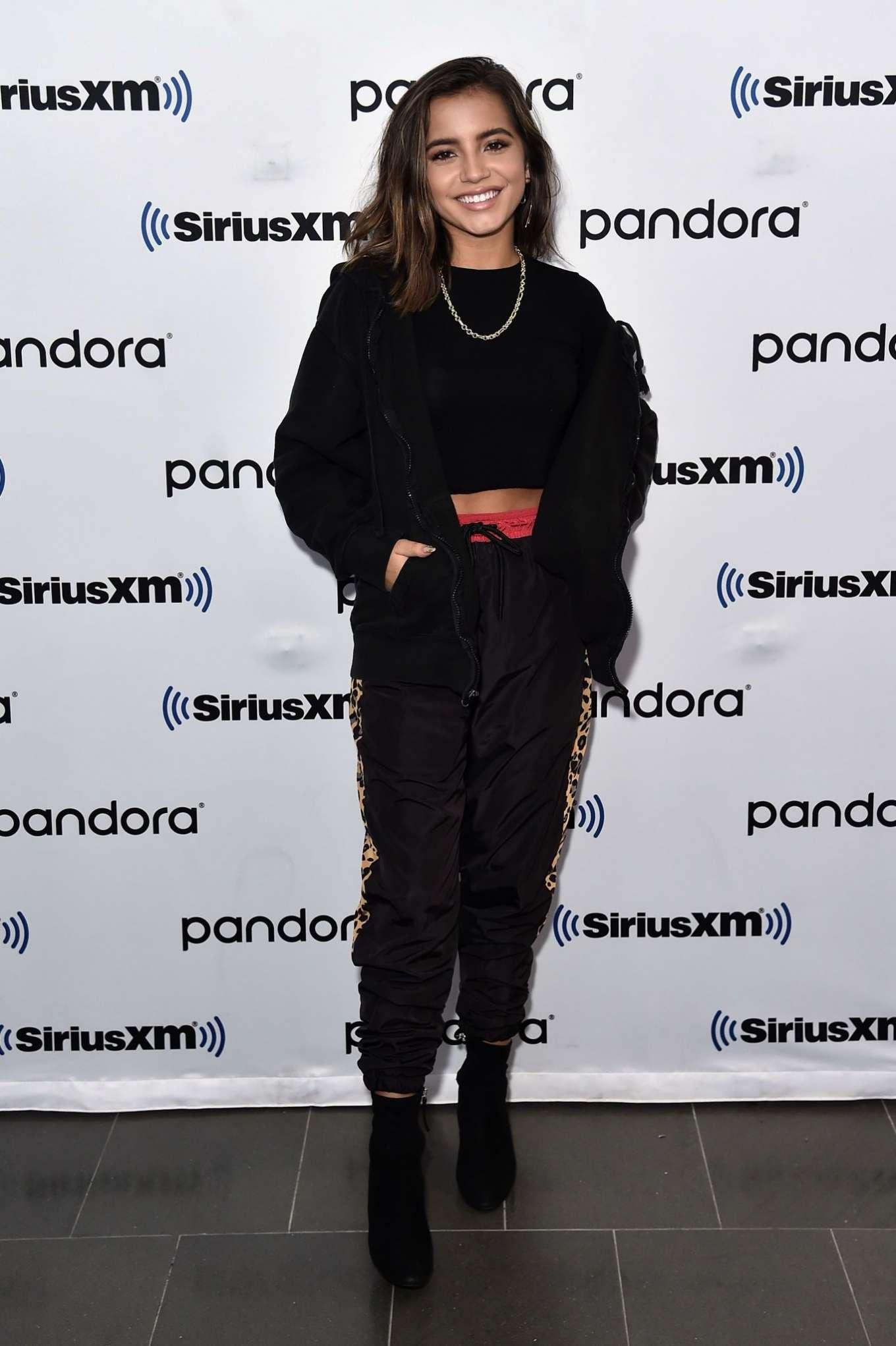 Isabela Moner 2019 : Isabela Moner – Visits SiriusXM Studios-05