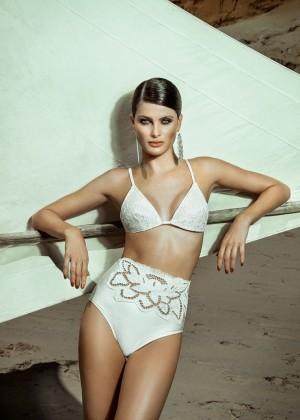 Isabeli Fontana - Agua de Coco Summer 2016 Campaign