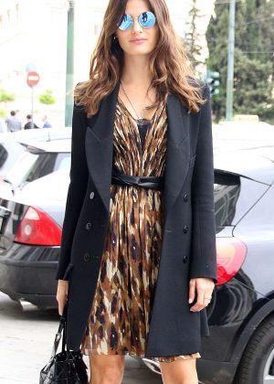 Isabeli Fontana at Greek Designer Celia Kritharioti's Fashion Show in Athens