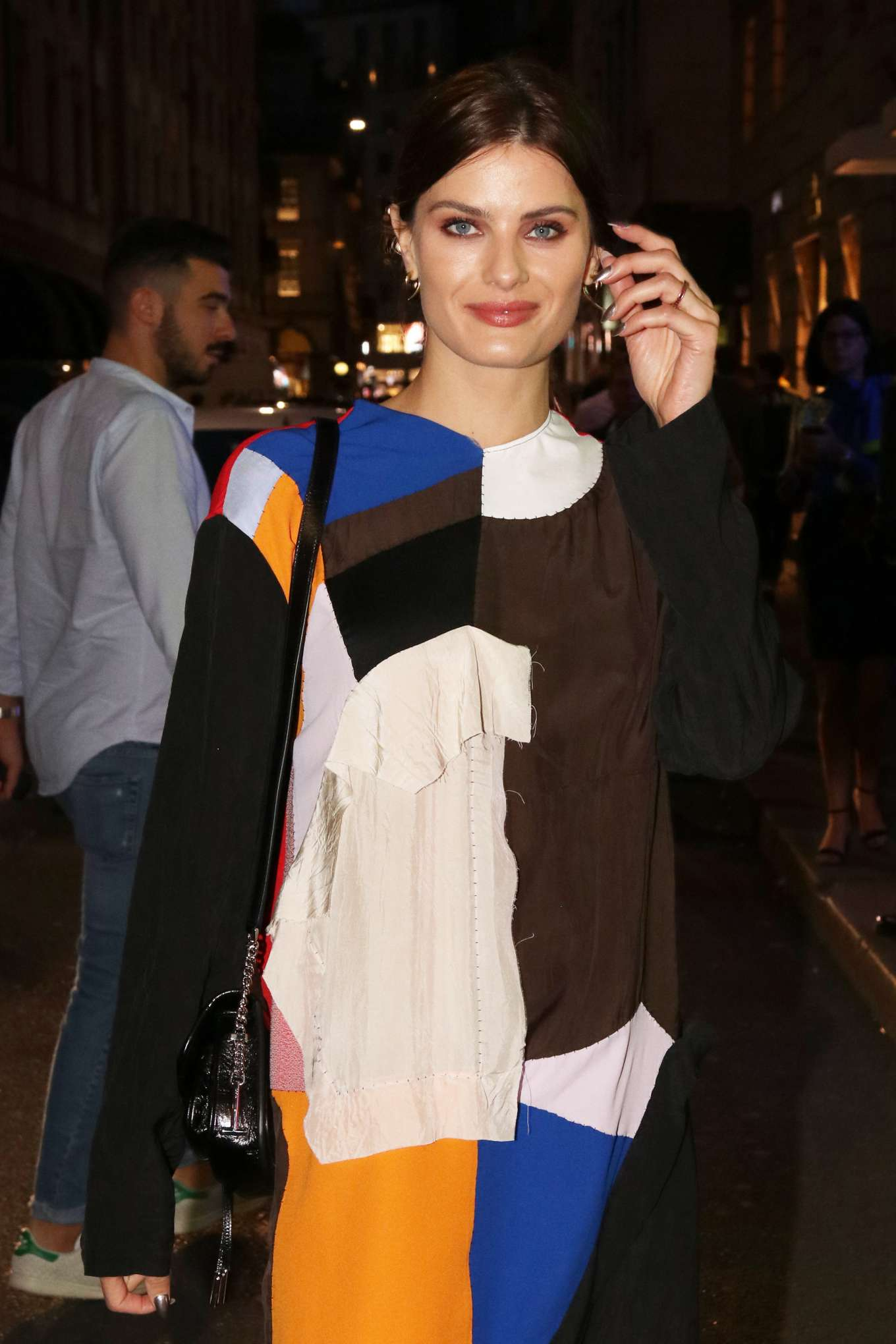 Isabeli Fontana at The Tod's Event in Milan