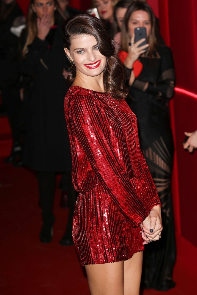 Isabeli Fontana - Attends at L'Oreal Red Obsession Party 2016 in Paris