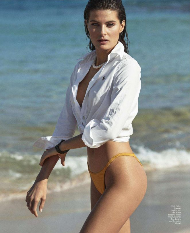 Isabeli Fontana - Elle US Magazine (August 2018)