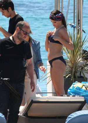 Isabeli Fontana in Bkini Photoshoot in Cannes