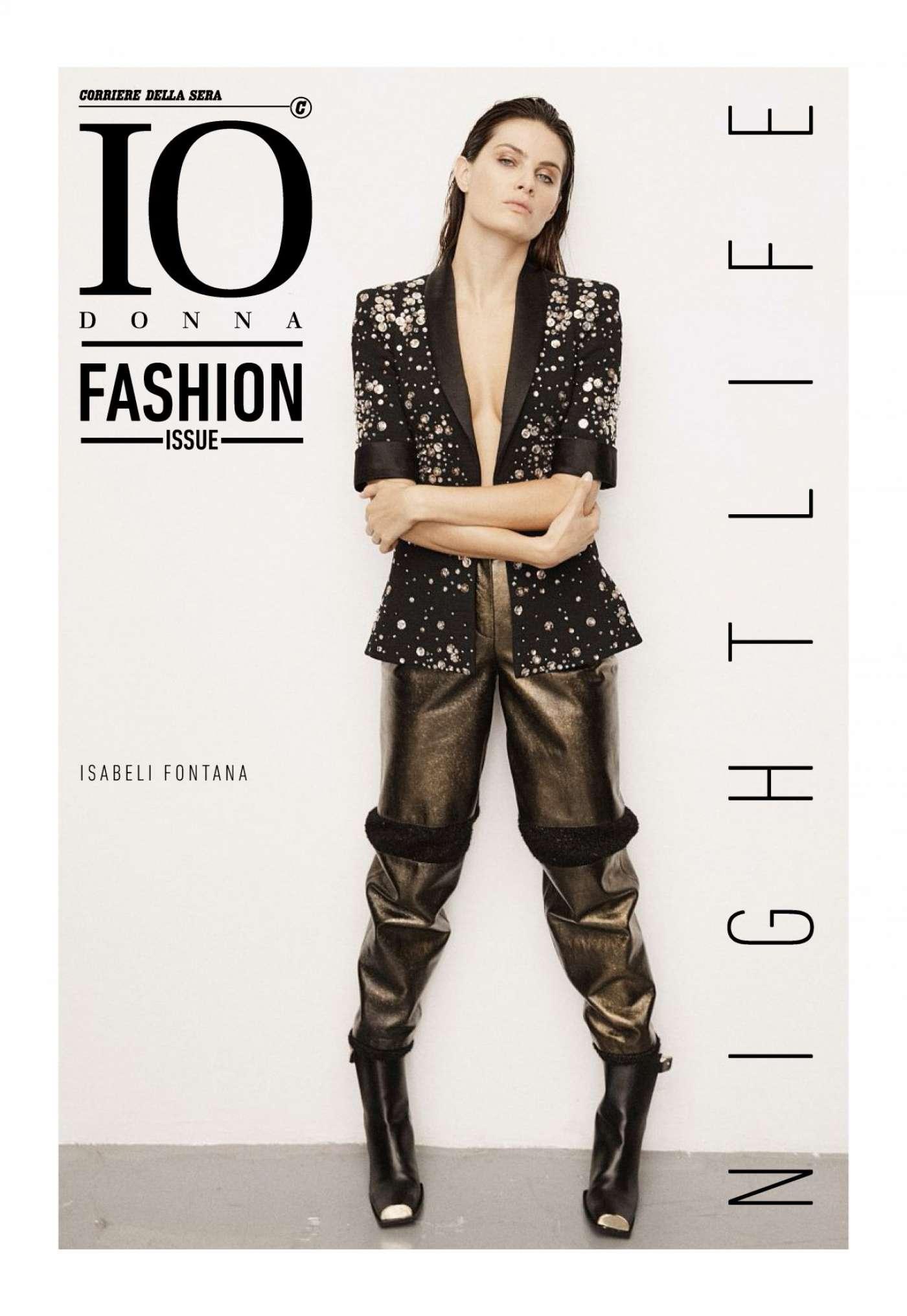 Isabeli Fontana - Io Donna Fashion Magazine (October 2017)