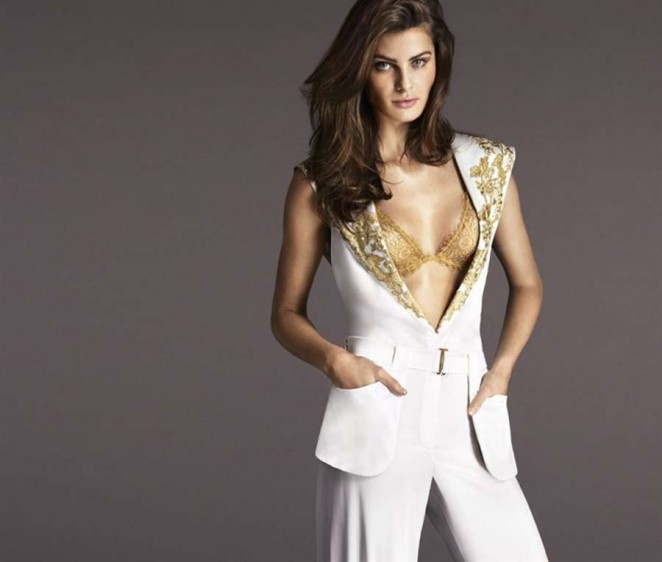 Isabeli Fontana - La Perla Collection FW 2015