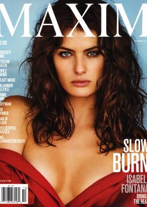 Isabeli Fontana - Maxim US Magazine (October 2015)