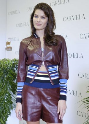 Isabeli Fontana - Presents SS 2018 Carmela Campaign in Madrid