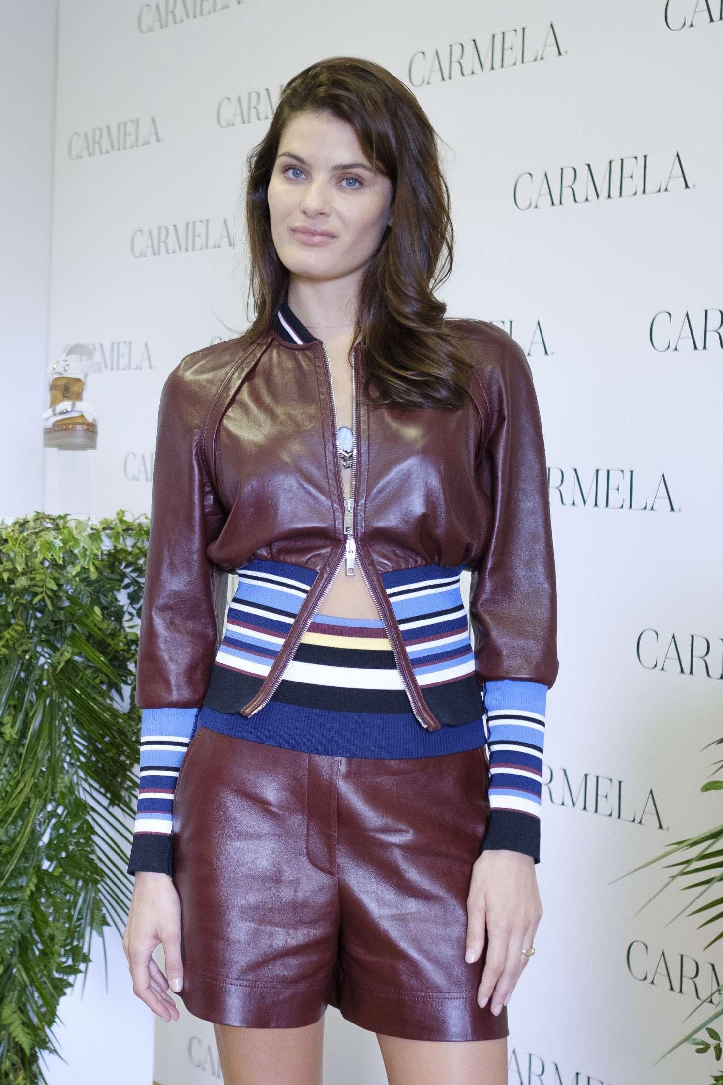 Isabeli Fontana - Presents SS 2018 Carmela Campaign in Madrid