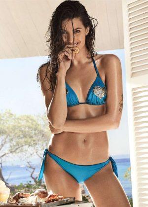 Isabeli Fontana - Twinset 'Coup de Coeur' Bikini Collection 2017