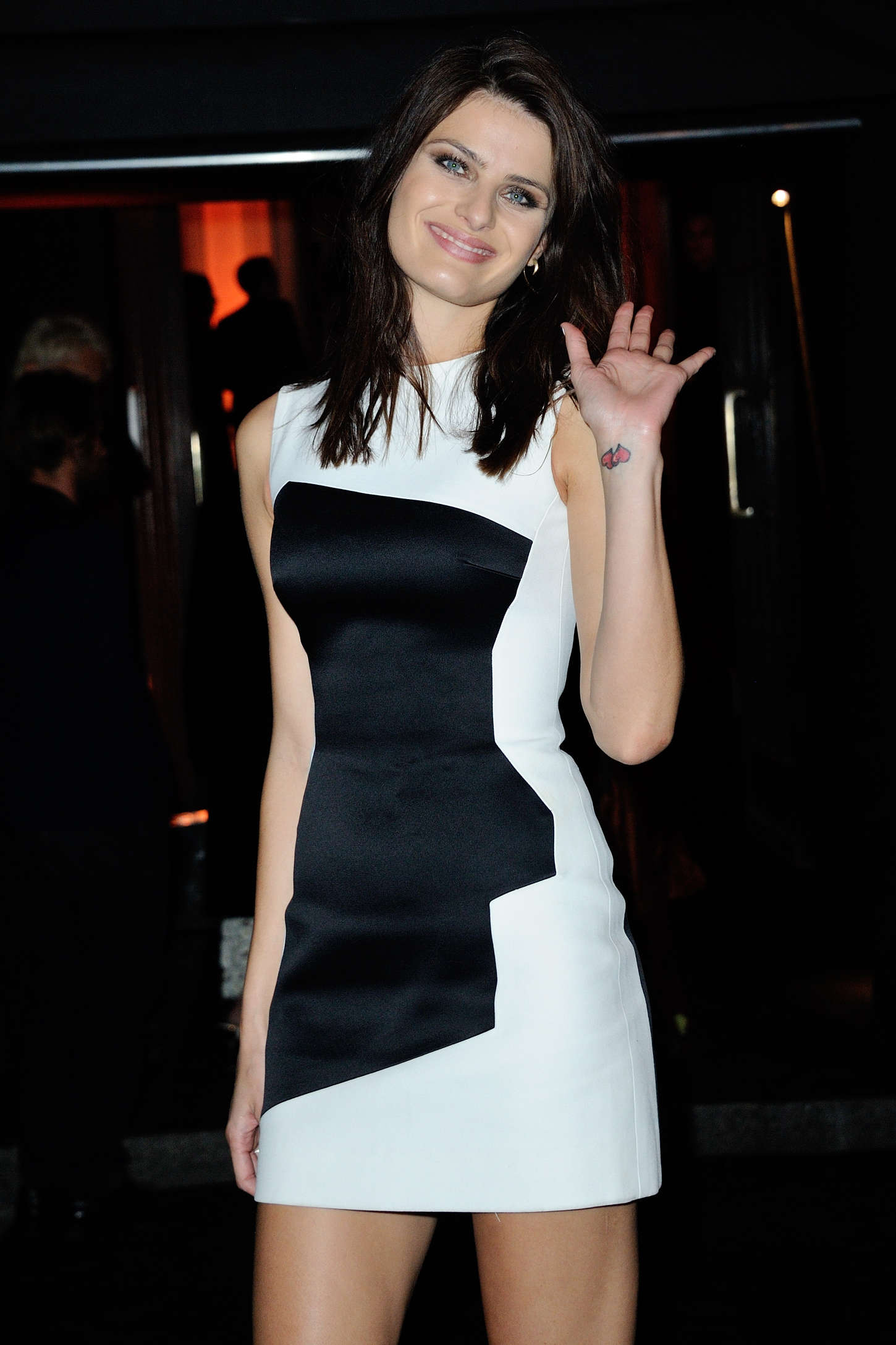 Isabeli Fontana - Vogue 95th Anniversary Party in Paris