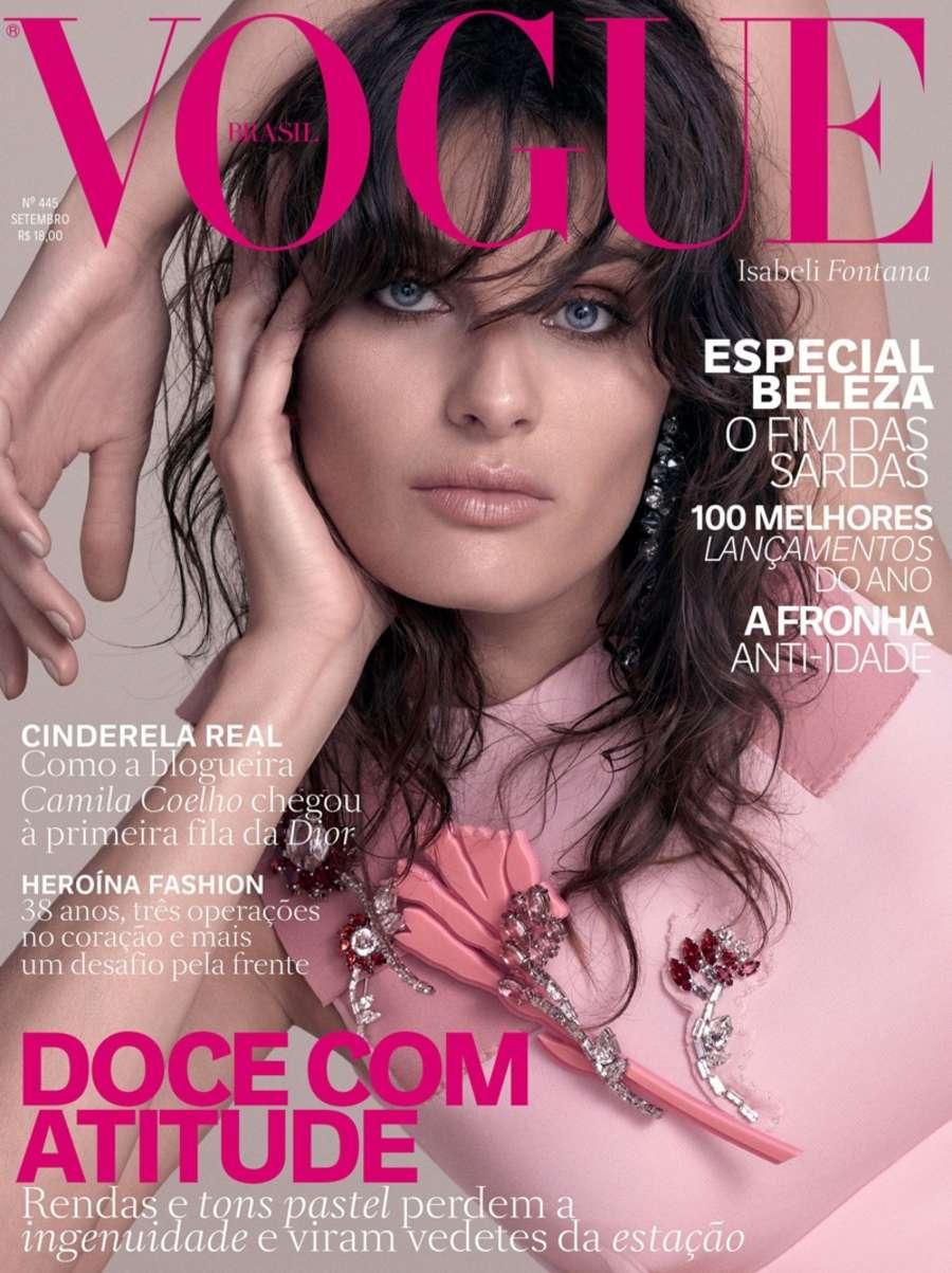 Fashion week Fontana isabeli vogue brazil for lady