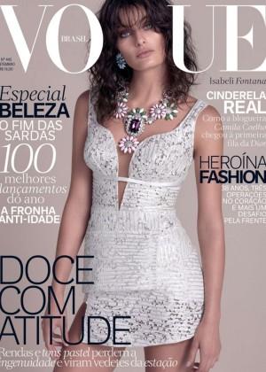 Isabeli Fontana - Vogue Brazil Cover (September 2015)