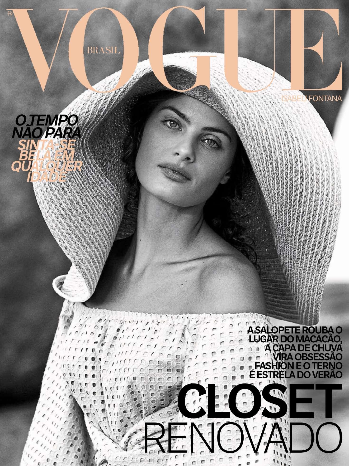 Isabeli Fontana 2017 : Isabeli Fontana: Vogue Brazil 2017 -01