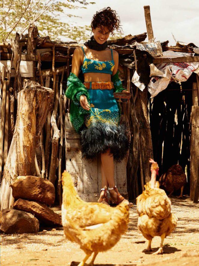 Isabeli Fontana: Vogue Brazil 2017 -20