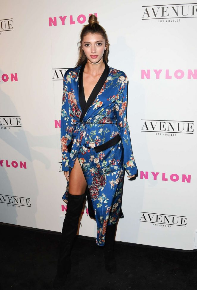 Isabella Brenza - Nylon Young Hollywood May Issue Event in LA