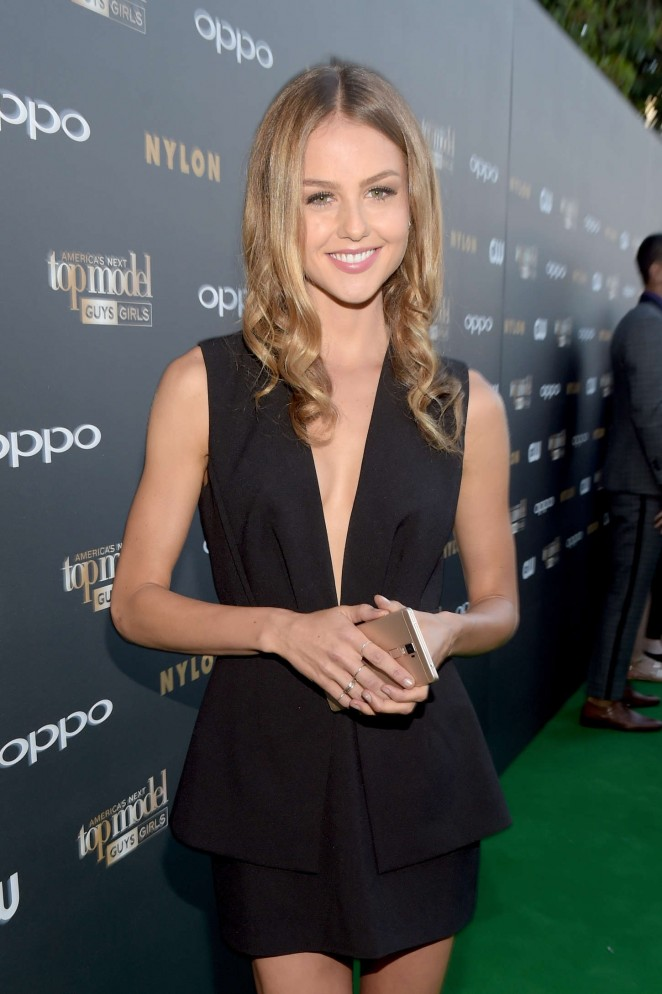 Isabelle Cornish - America's Next Top Model Cycle 22 Premiere Party in West Hollywood