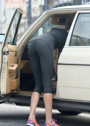 Isabelle Cornish in Tights -02