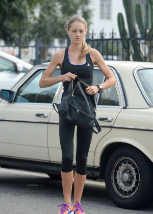 Isabelle Cornish in Tights -05