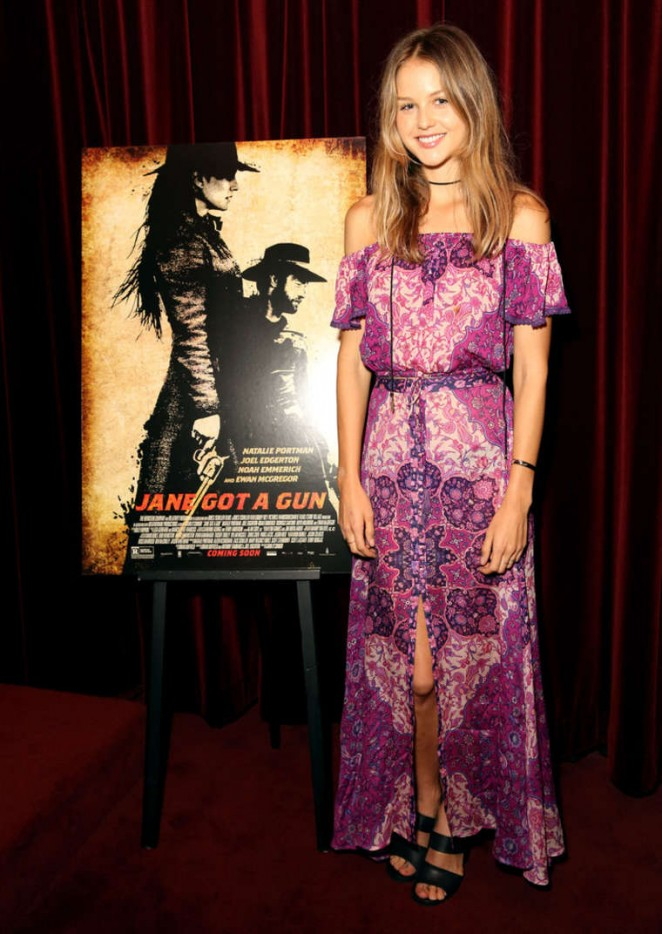 Isabelle Cornish - 'Jane Got A Gun' Screening in Los Angeles