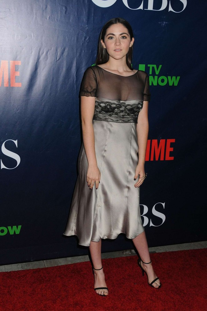 isabelle fuhrman cbs cw and showtime tca summer party