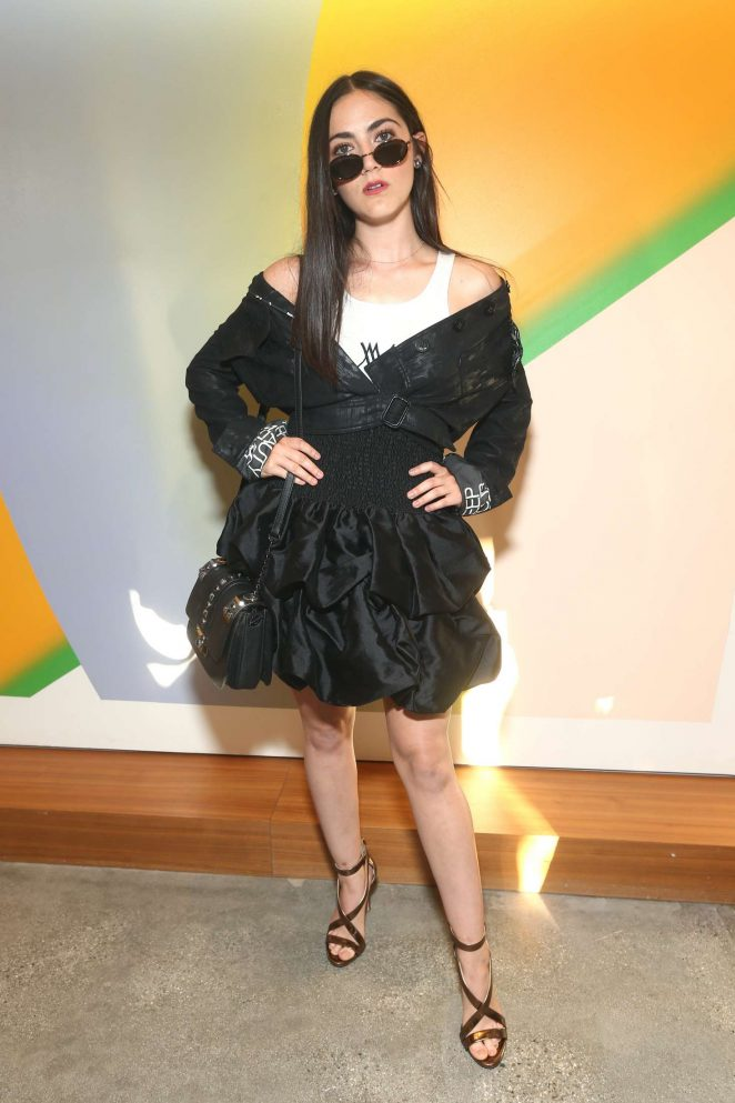Isabelle Fuhrman - Wolk Morais Collection 7 Fashion Show in Los Angeles