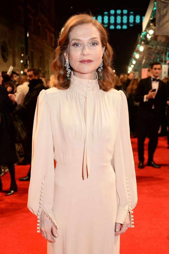 Isabelle Huppert - 2017 British Academy Film Awards in London