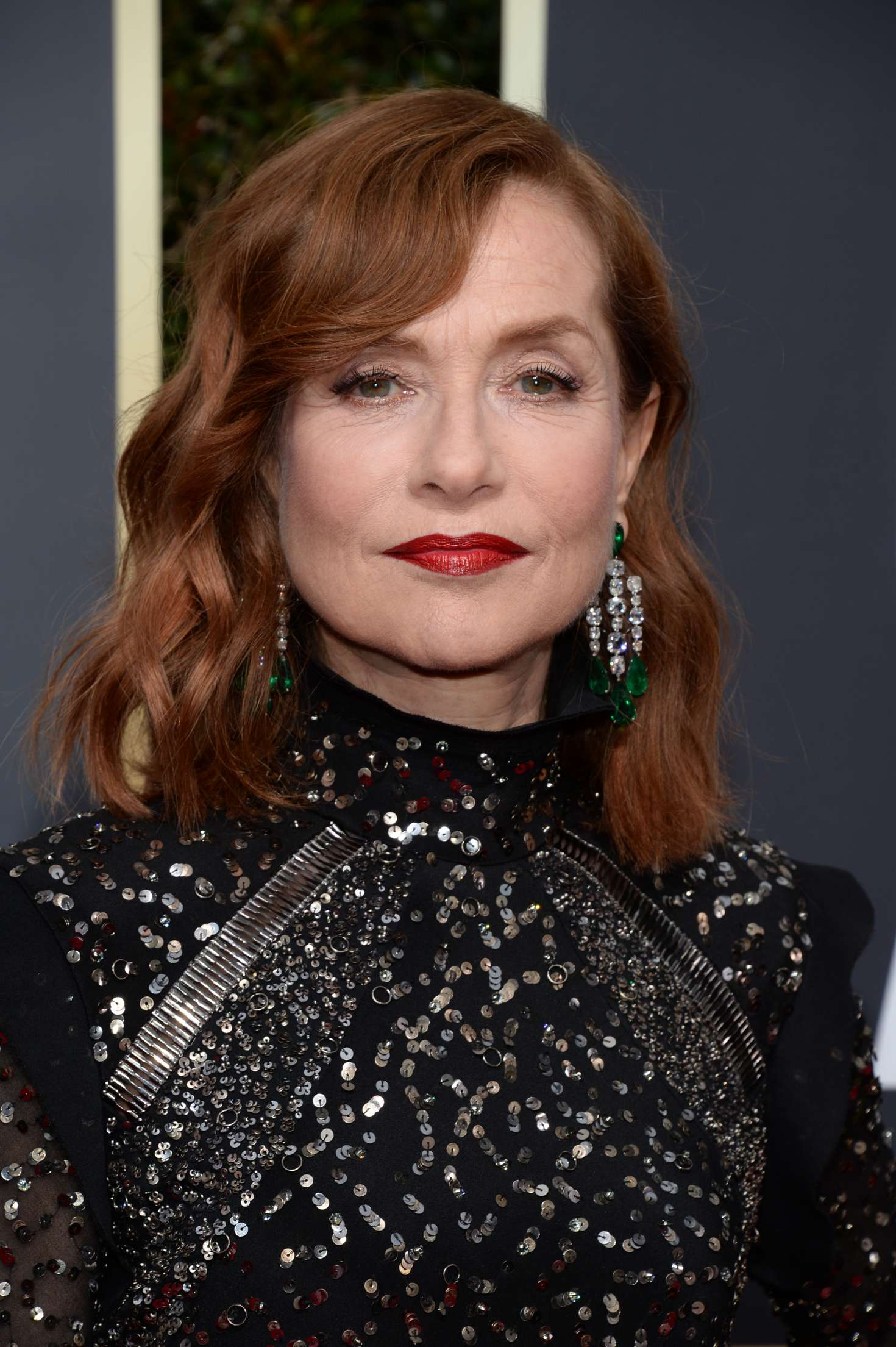 Isabelle Huppert – 2018 Golden Globe Awards in Beverly Hills – GotCeleb