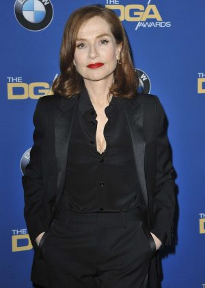 Isabelle Huppert - 69th DGA Awards in Beverly Hills