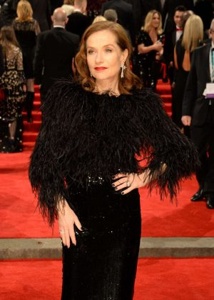 Isabelle Huppert - 2018 BAFTA Awards in London