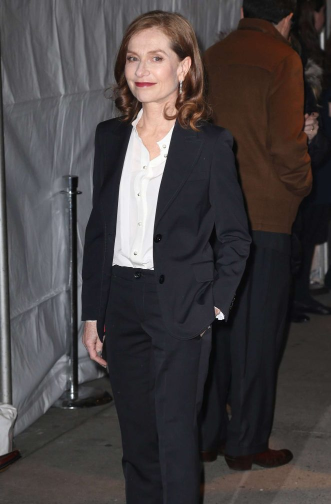 Isabelle Huppert - Attends at 26th Annual Gotham Independent Film Awards in NY