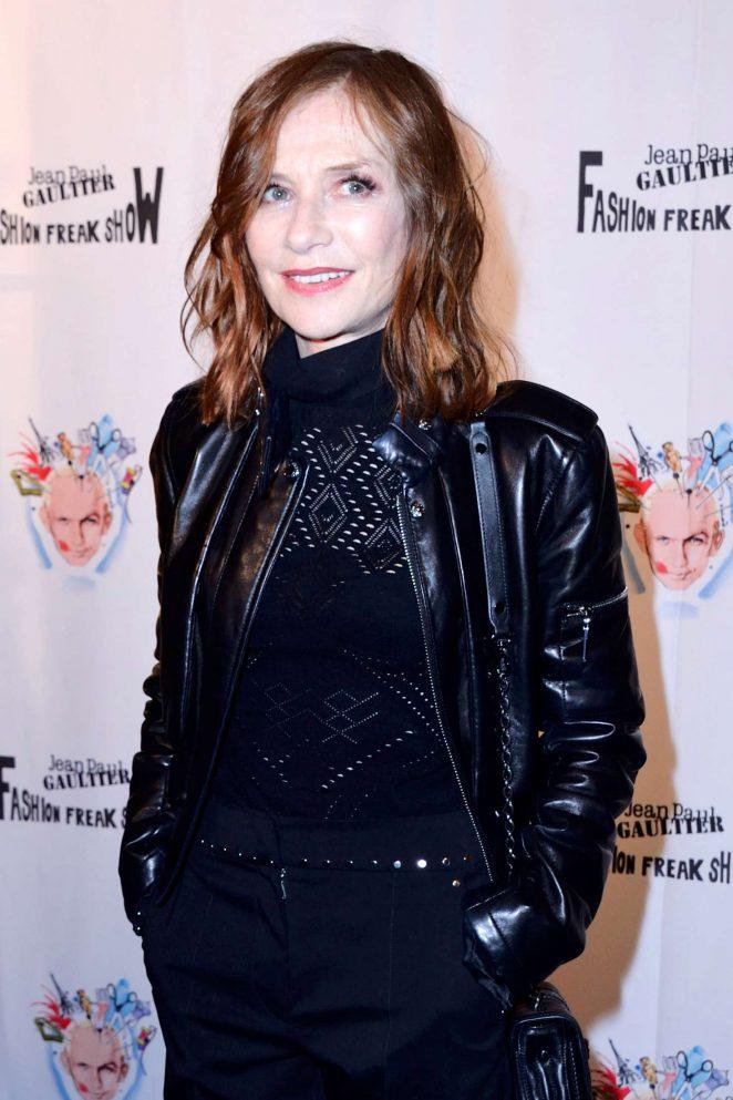 Isabelle Huppert – Fashion Freak Show in Paris