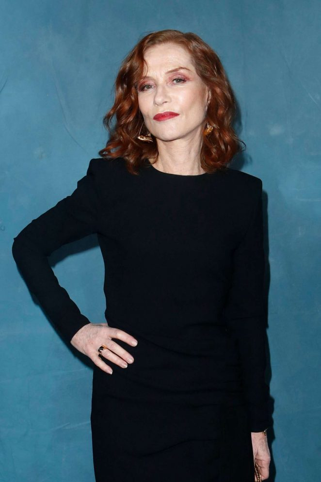 Isabelle Huppert – Givenchy Fashion Show in Paris