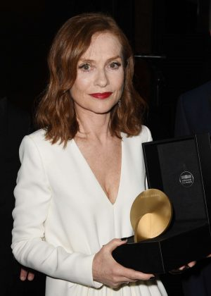 Isabelle Huppert - Kering Women in Motion Awards 2017 in Cannes