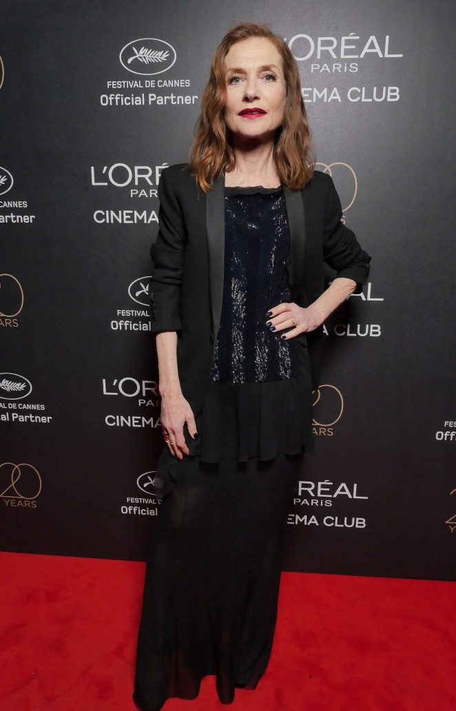 Isabelle Huppert - L'Oreal 20th Anniversary Party in Cannes