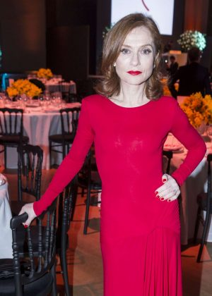 Isabelle Huppert - Sidaction Gala Dinner SS 2017 in Paris