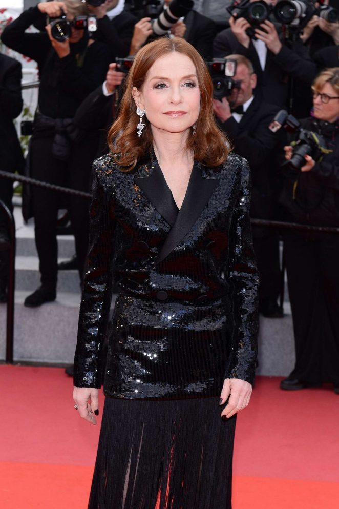 Isabelle Huppert – 'Sink or Swim' Premiere at 2018 Cannes Film Festival