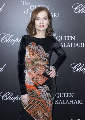 Isabelle Huppert - 'The Garden of Kalahari' Movie Presentation in Paris