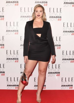 Iskra Lawrence - 2017 Elle Style Awards in London
